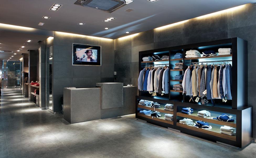 Diseño interior tiendas de ropa
