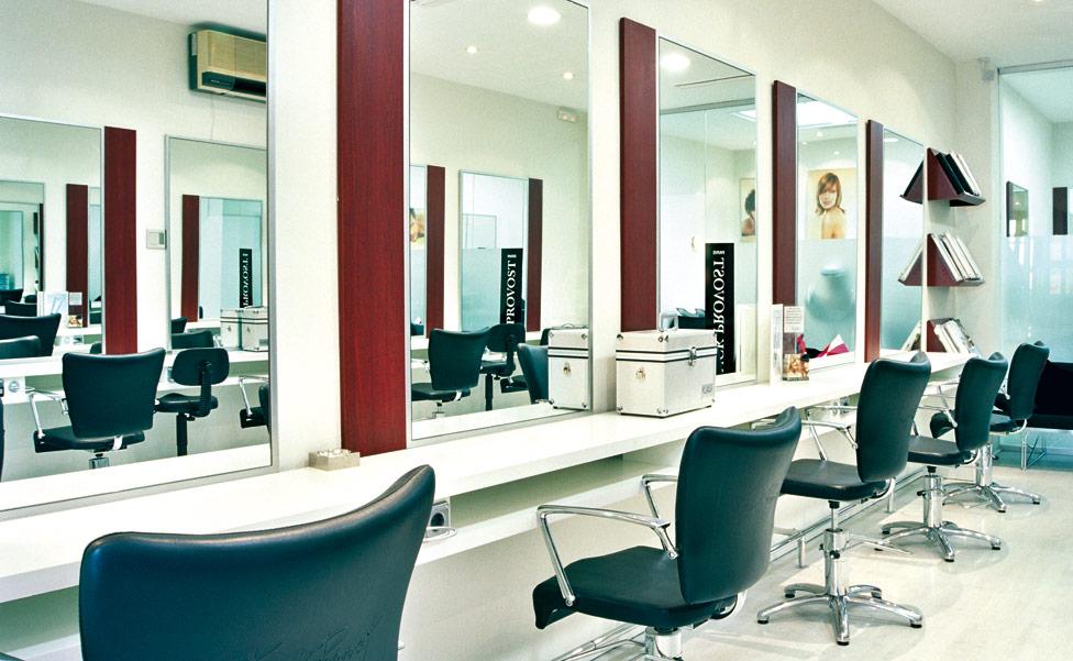 Peluquer as y centros de est tica mobiliario dise o y for Disenos de espejos para peluqueria