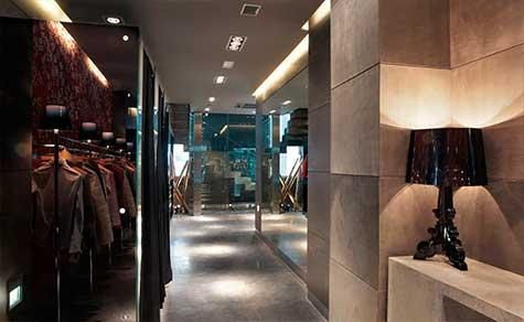 Interiorismo tienda de ropa