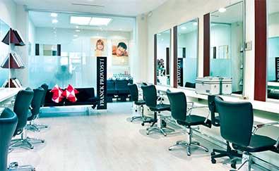 Proyectos de decoración realizados en salones de estética y peluquerías