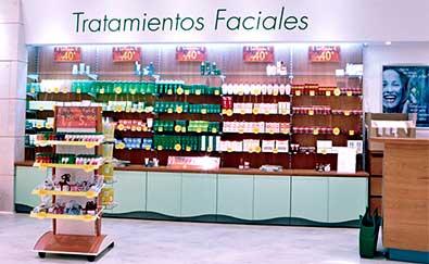 Proyectos de decoración realizados en perfumerías
