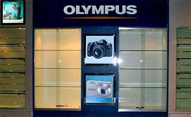 Proyectos de decoración realizados en tiendas de fotografía