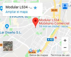 Como llegar a Modular LS34 con google maps